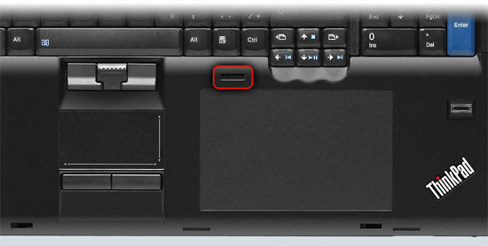 Just in case you had no idea where the inbuilt colour calibrator was, it's right there (where the red outline is).