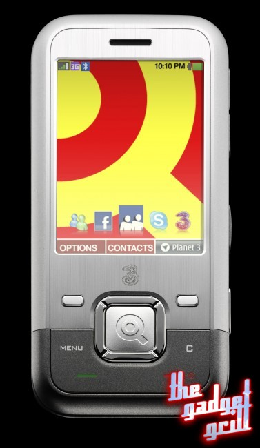 """Three's """"Facebook Phone,"""" also known as the INQ1."""