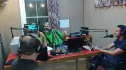 Jason, Gary and Geoff in the studio