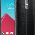 The stylish LG G4 phone